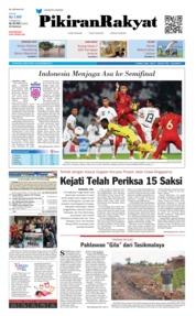 Cover Pikiran Rakyat 14 November 2018