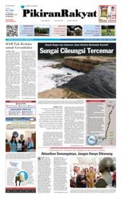 Cover Pikiran Rakyat 07 Desember 2018
