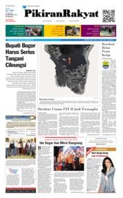 Cover Pikiran Rakyat 08 Desember 2018