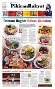 Cover Pikiran Rakyat 09 Desember 2018