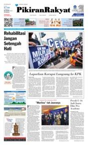 Cover Pikiran Rakyat 10 Desember 2018