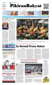 Cover Pikiran Rakyat 12 Desember 2018