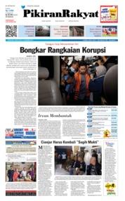 Cover Pikiran Rakyat 14 Desember 2018