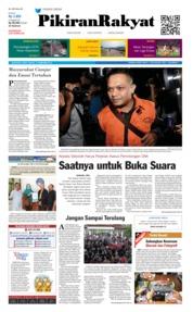 Cover Pikiran Rakyat 15 Desember 2018