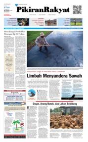 Cover Pikiran Rakyat 17 Desember 2018