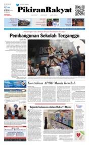 Cover Pikiran Rakyat 19 Desember 2018