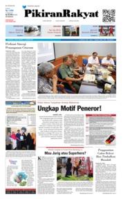 Cover Pikiran Rakyat 11 Januari 2019