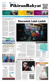 Cover Pikiran Rakyat 12 Januari 2019