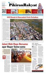Cover Pikiran Rakyat 13 Januari 2019