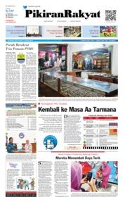 Cover Pikiran Rakyat 14 Januari 2019