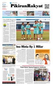Cover Pikiran Rakyat 15 Januari 2019