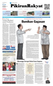 Cover Pikiran Rakyat 16 Januari 2019