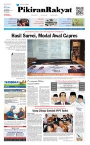 Cover Pikiran Rakyat 17 Januari 2019