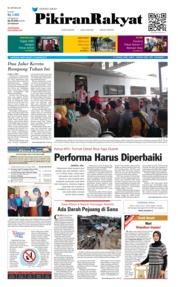 Cover Pikiran Rakyat 19 Januari 2019