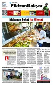 Cover Pikiran Rakyat 20 Januari 2019