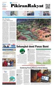 Cover Pikiran Rakyat 21 Januari 2019