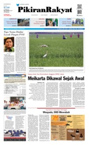 Cover Pikiran Rakyat 22 Januari 2019