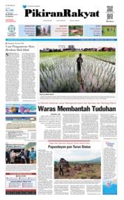 Cover Pikiran Rakyat 23 Januari 2019