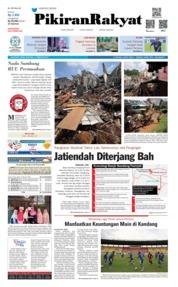 Cover Pikiran Rakyat 11 Februari 2019