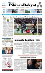 Cover Pikiran Rakyat 12 Februari 2019
