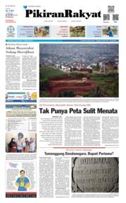 Cover Pikiran Rakyat 13 Februari 2019