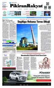 Cover Pikiran Rakyat 15 Februari 2019