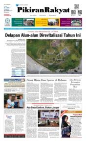 Cover Pikiran Rakyat 16 Februari 2019