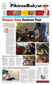 Cover Pikiran Rakyat 17 Februari 2019