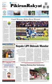 Cover Pikiran Rakyat 19 Februari 2019