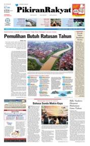 Cover Pikiran Rakyat 22 Februari 2019
