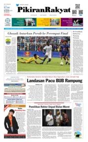 Cover Pikiran Rakyat 23 Februari 2019