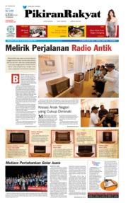 Cover Pikiran Rakyat 24 Februari 2019