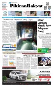Cover Pikiran Rakyat 15 Maret 2019