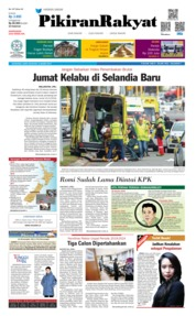 Cover Pikiran Rakyat 16 Maret 2019