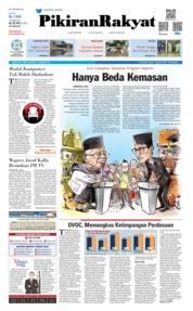 Cover Pikiran Rakyat 18 Maret 2019
