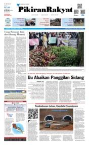 Cover Pikiran Rakyat 19 Maret 2019