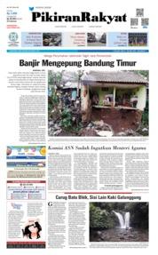 Cover Pikiran Rakyat 20 Maret 2019