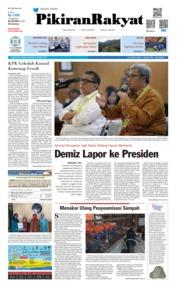 Cover Pikiran Rakyat 21 Maret 2019