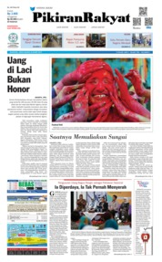 Cover Pikiran Rakyat 22 Maret 2019