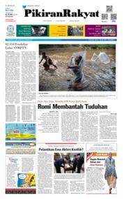 Cover Pikiran Rakyat 23 Maret 2019