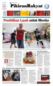 Cover Pikiran Rakyat 24 Maret 2019