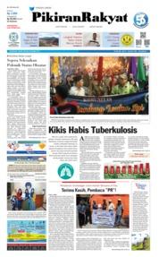 Pikiran Rakyat Cover 25 March 2019
