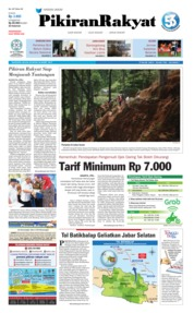 Pikiran Rakyat Cover 26 March 2019