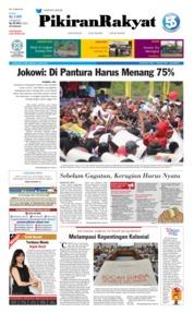 Pikiran Rakyat Cover 06 April 2019