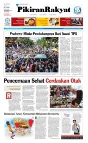 Pikiran Rakyat Cover 07 April 2019