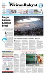 Pikiran Rakyat Cover 08 April 2019