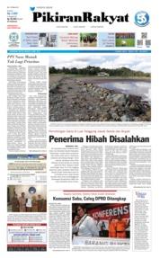 Pikiran Rakyat Cover 09 April 2019