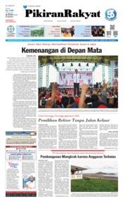 Pikiran Rakyat Cover 10 April 2019