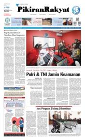 Cover Pikiran Rakyat 16 April 2019