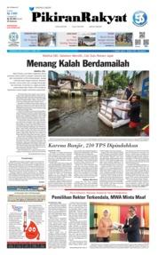 Cover Pikiran Rakyat 17 April 2019